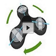 Fidget spinner as centrifuge separates blood plasma (video)