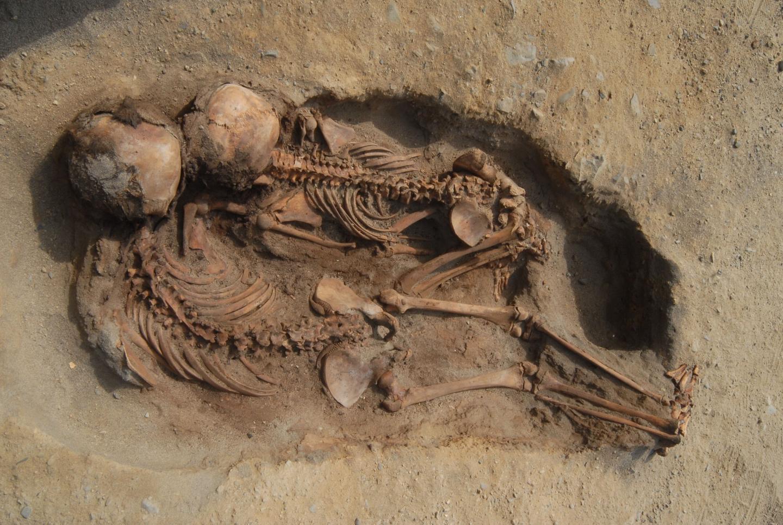 Mummified children