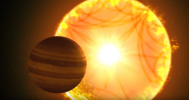 Starquakes Rock Alien Sun, Revealing Details of a 'Hot Saturn'