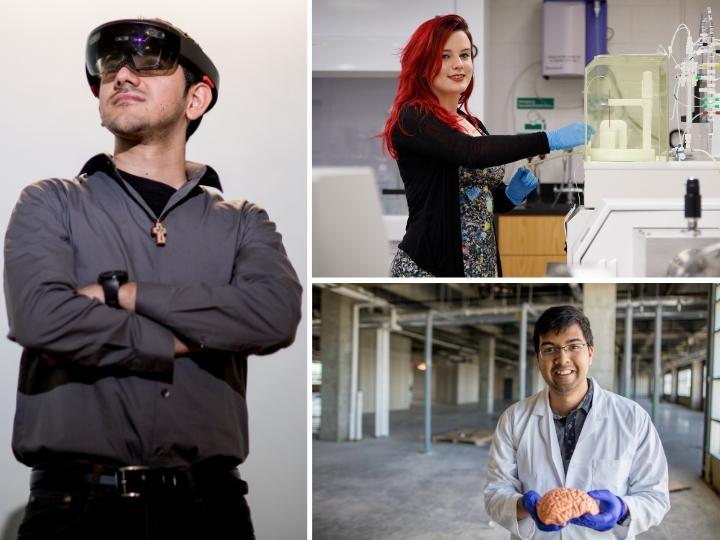 University of Houston students, alumni earn prestigious NSF graduate research fellowships