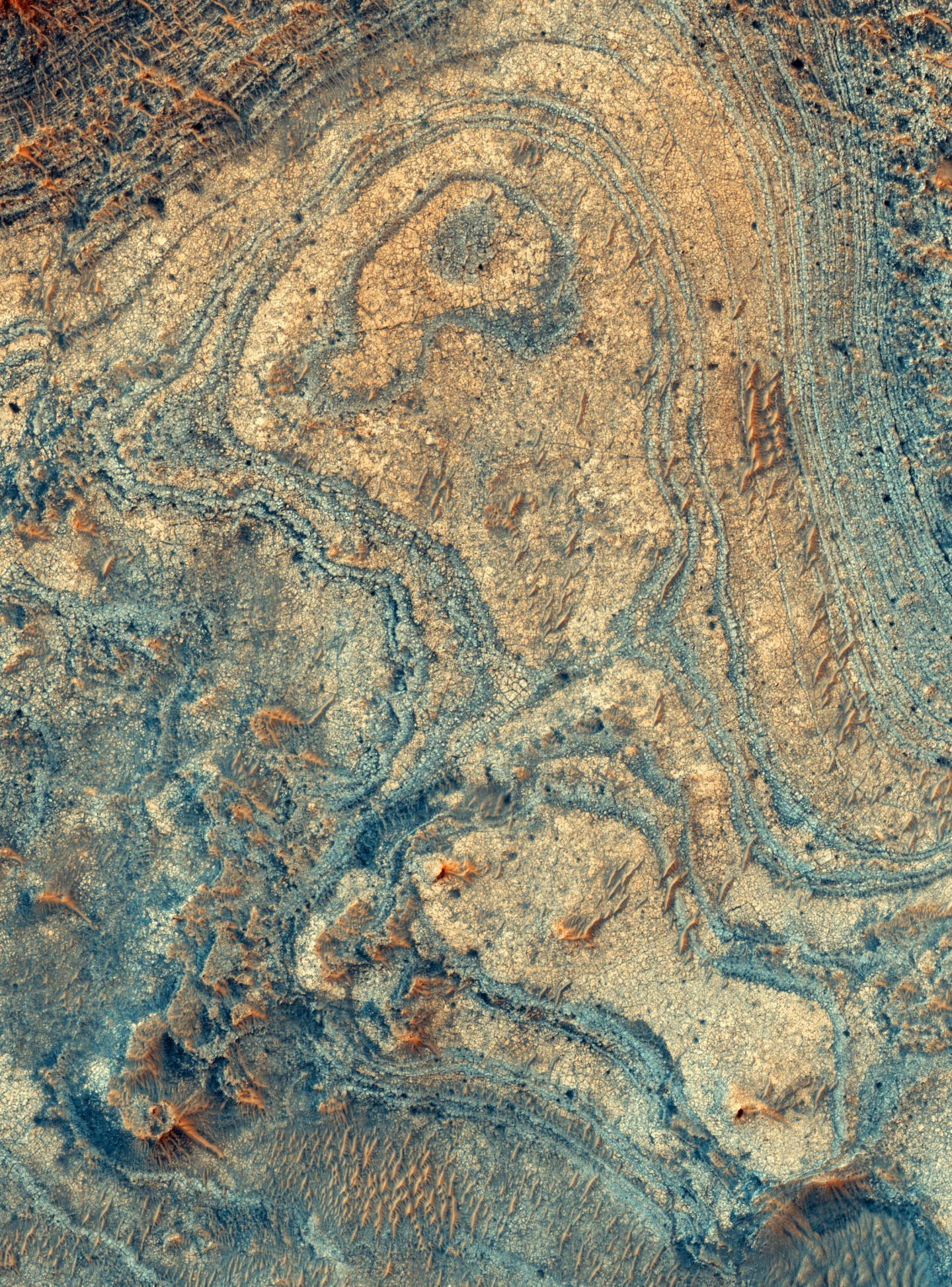 Strange Formation Found on Mars