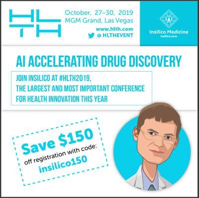 Insilico Medicine to present at HLTH 2019 | EurekAlert! Science News