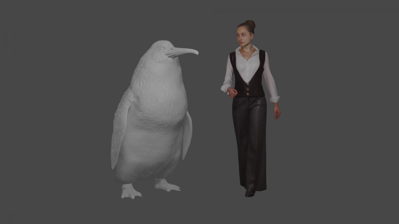 Model of Penguin [image] | EurekAlert! Science News