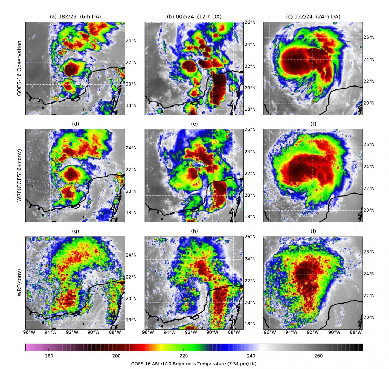 Data Assimilation Method Offers Improved Hurricane Forecasting