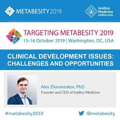 Insilico Medicine to present at Targeting Metabesity 2019 | EurekAlert! Science News