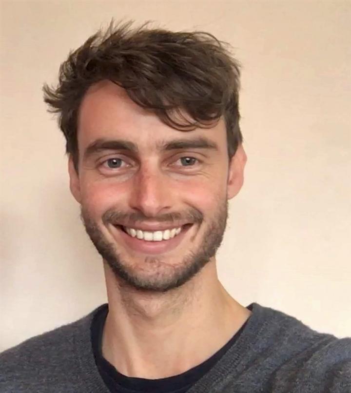Jono Drew is lead researcher and Otago medical student.  Credit: Jono Drew
