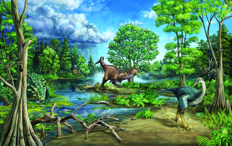 Newswise: Late Cretaceous dinosaur-dominated ecosystem