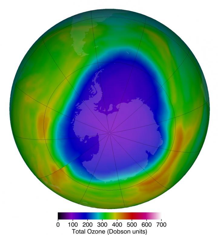 'Gat' in ozonlaag boven Noordpool