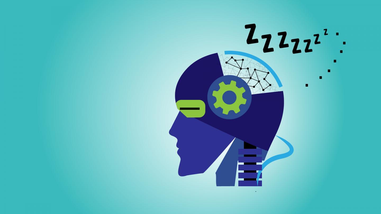 Artificial Brains May Need Sleep Too