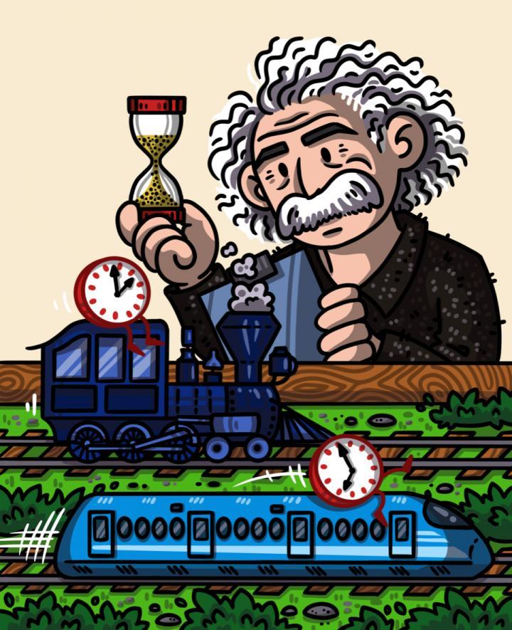 Newswise: Timekeeping theory combines quantum clocks and Einstein's relativity