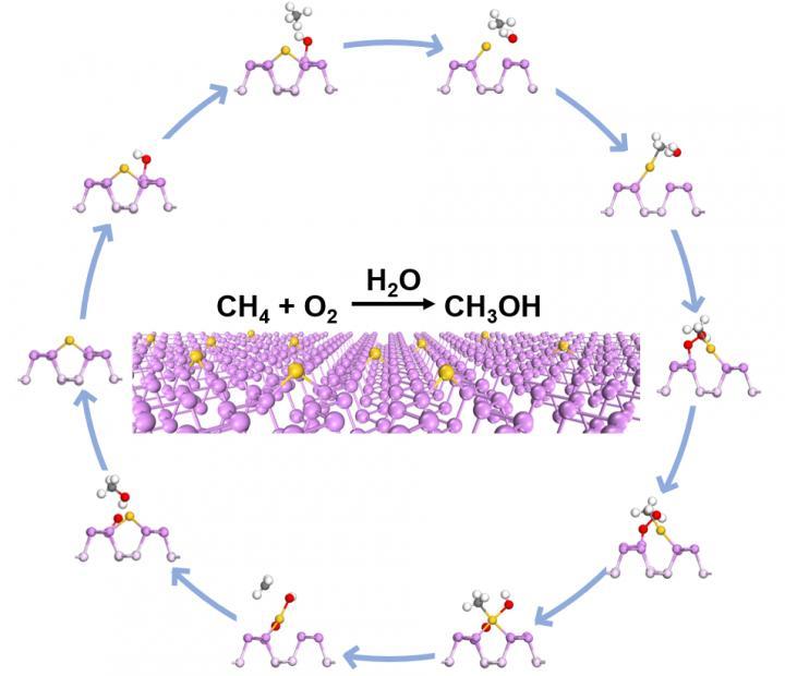 Gold-phosphorus nanosheets catalyzes nature gas to greener energy selectively - Science Codex